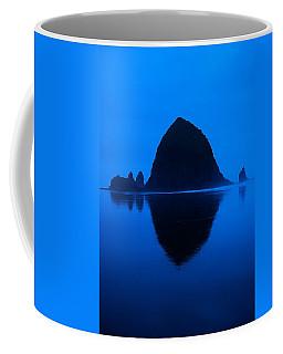 Cannon Beach Blue Coffee Mug