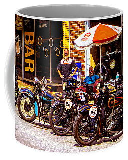 Cannonball Motorcycle Colors Coffee Mug