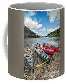 Canoe Break Coffee Mug