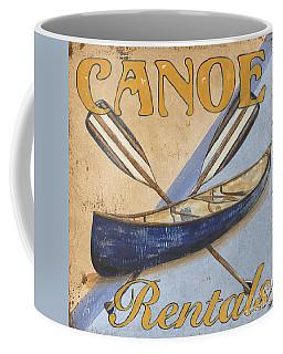 Canoe Rentals Coffee Mug