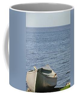Coffee Mug featuring the photograph Canoe by Tiffany Erdman