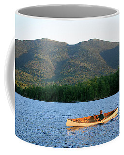 Canoeing Flagstaff Lake Coffee Mug