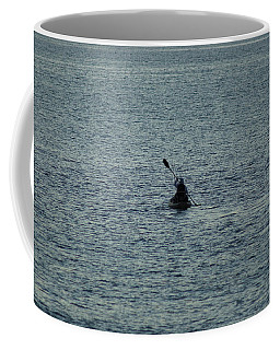 Coffee Mug featuring the photograph Canoeing In The Florida Riviera by Rafael Salazar
