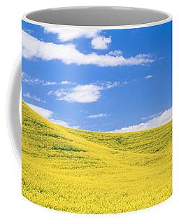 Canola Fields, Washington State, Usa Coffee Mug