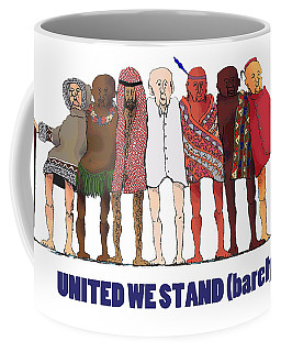 Can't We Just Get Along? Coffee Mug