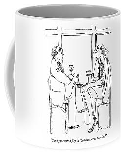 Can't You Create A Flap In The Media Coffee Mug