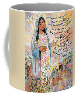 Canticle Of Mary Coffee Mug