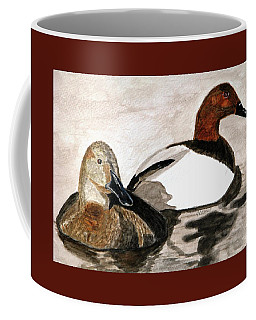 Canvasback Couple Coffee Mug