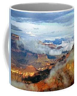 Canyon Clouds Coffee Mug