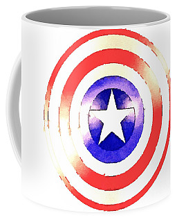 Cap Am Shield Coffee Mug