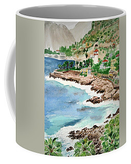 Cap D'ail On A Rainy Day Coffee Mug