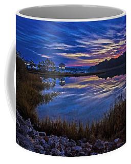 Cape Charles Sunrise Coffee Mug by Suzanne Stout