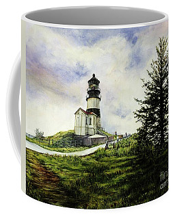 Cape Disappointment Lighthouse On The Washington Coast Coffee Mug
