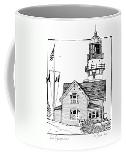 Cape Elizabeth Lighthouse Coffee Mug