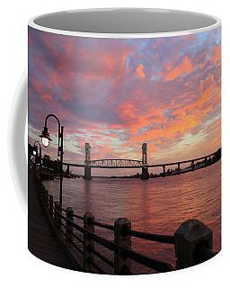 Coffee Mug featuring the photograph Cape Fear Bridge by Cynthia Guinn