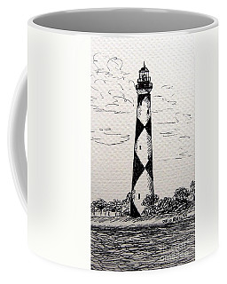 Cape Lookout Lighthouse Nc Coffee Mug
