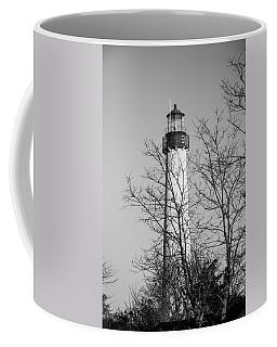 Cape May Light B/w Coffee Mug