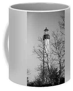 Cape May Light B/w Coffee Mug