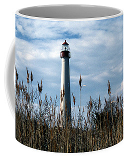 Cape May Light Coffee Mug by Skip Willits