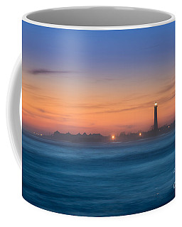 Cape May Lighthouse Sunset Coffee Mug by Michael Ver Sprill