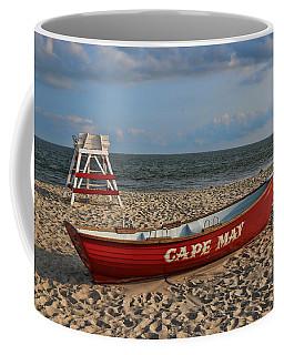 Cape May N J Rescue Boat Coffee Mug