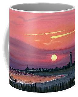 Cape May Sunset Coffee Mug by Barbara Jewell
