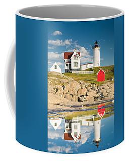 Cape Neddick Light  Reflections Coffee Mug