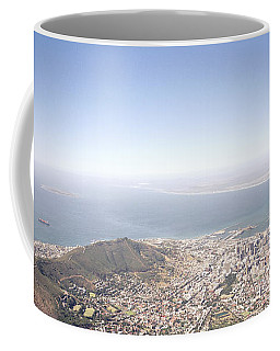 Cape Town Panorama Coffee Mug by Shaun Higson