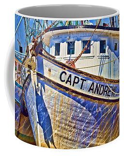Capt Andrew Shrimper Coffee Mug