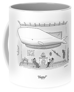 Captain Ahab And His Wife Sit In Their Living Coffee Mug