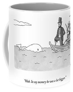 Captain Ahab Finds A Small Whale Coffee Mug