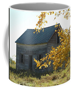 Coffee Mug featuring the photograph Captain Ed's Homestead by Penny Meyers