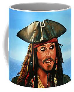 Captain Jack Sparrow Painting Coffee Mug