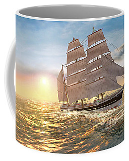 Captain Larry Paine Clippership Coffee Mug