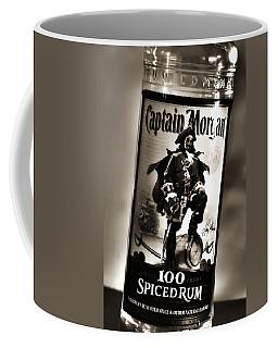 Captain Morgan Black And White Coffee Mug