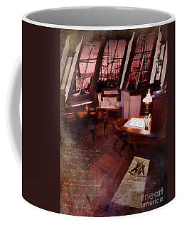 Captain's Cabin On The Dicey Coffee Mug