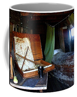 Captain's Quarters Aboard The Mayflower Coffee Mug