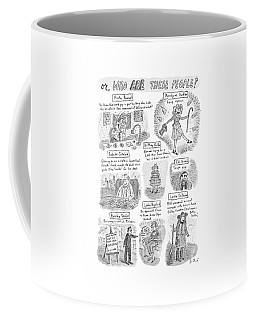 Captionless Who Are These People? Coffee Mug