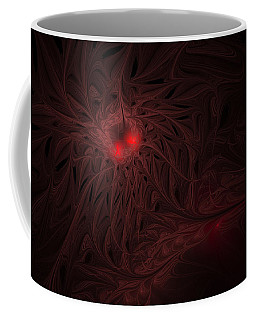 Coffee Mug featuring the digital art Captive Soul by GJ Blackman
