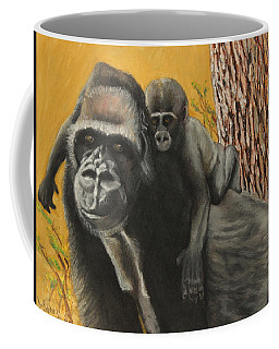 Coffee Mug featuring the painting Captured Bernigie by Jeanne Fischer