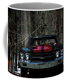 Car Art Chevy Chevelle Ss Hdr Coffee Mug