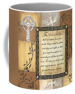 Caramel Scripture Coffee Mug