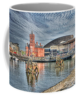 Cardiff Bay Textured Coffee Mug