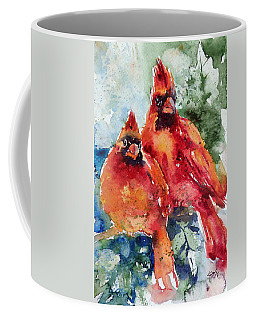 Cardinal Birds Coffee Mug