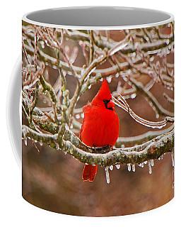 Cardinal Coffee Mug by Mary Carol Story