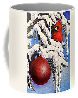 Cardinal One Ball Coffee Mug