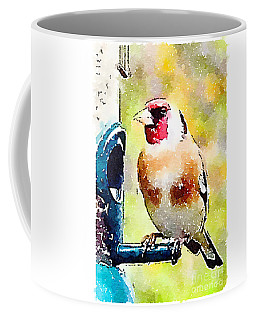 Carduelis Carduelis 'waterfinch' Coffee Mug