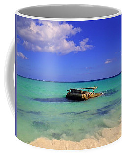 Coffee Mug featuring the photograph Caribbean Colors  by Eti Reid