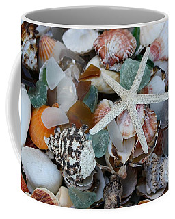Caribbean Shells Coffee Mug by The Art of Alice Terrill