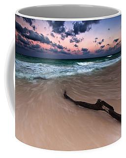 Caribbean Sunset Coffee Mug by Mihai Andritoiu